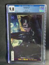 "Catwoman #15 CGC 9.8 Stanley ""Artgerm"" Lau cover VARIANT 2019 BOX28"
