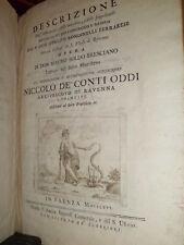 Descrizione degl' instrumenti, delle macchine...SOLDI Mauro - unica edizione1766