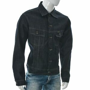 G-Star Jeans Men's Tailor Jacket Full Cut Lasting Comfort USA Denim Size 50