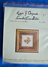 Vintage 1975 Counted Cross Stitch Kit Aggie J Originals Butterfly #1974
