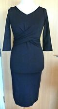 Coast Ladies Dress 10 Black Evening Cocktail Lace Party New Tags £119 Patenna
