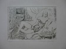 QUELVEE (François) (1884-1967). Femme couchée. Estampe. Numérotée. Signée.
