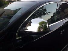 Chrome Side Mirror Cap Covers L+R for Audi Q7 4L Pre-Facelift 05-09