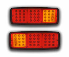 2 X 12v 36 SMD LED Rear Lights Tail Lorry Truck Van Trailer Universal 3 Function