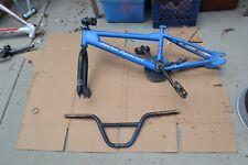 Vintage  free agent bmx bike Frame and parts