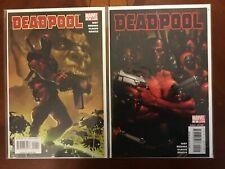 Deadpool Comics Lot #1 2 2008 2nd Series) NM Near Mint