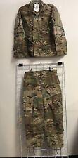 New Us Army Multicam Ocp Army Uniform Set Jacket/Trousers Fr Small Xs Nwt