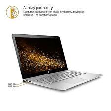 """HP Envy Touch15t Laptop 15 15.6"""" FHD i7-7500U 8GB 128GB SSD + 1T  Backlit Key AC"""