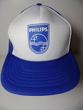 Vintage 1980s PHILIPS Electronics Company Advertising SNAPBACK HAT TRUCKER CAP