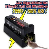 Electronic Mouse Trap Mice Rat Killer Control Pest Electric Zapper Rodent AU
