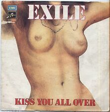 """EXILE - Kiss you all over - VINYL 7"""" 45 LP 1978 NEAR MINT COVER VG- CONDITION"""