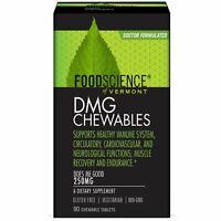FoodScience DMG Chewables 250 mg 90 Chewable Tablets Gluten-Free , Vegetarian