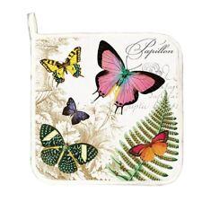 Michel Design Works Cotton Kitchen Potholder Papillon Butterflies - NEW