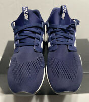 New Balance Navy White Men Running Casual Lifestyle Sneakers Size9.5