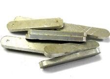 L11140 1/10 Escala Suspensión Delantera Brazo Bloque X 10 Metal De Plata 10 Piezas