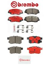 For Honda Accord 08-17 Pair of 2 Front & Rear Disc Brake Pads Set Ceramic Brembo
