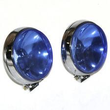 2x 12V Universal Halogen Spotlight Fog Car Spot Blue Lights Foglights Lamps 55W