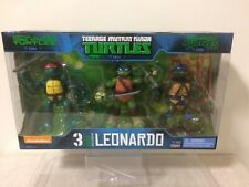 Teenage Mutant Ninja Turtles héroe exclusivo 3 Pack Leonardo Nickelodeon