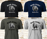 New War Chief SAVAGE ARMS Firearm Gun Military Army Riffle Black T-SHirt S-4XL