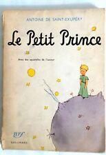 Le petit prince par Antoine de Saint-Exupéry. (NRF Gallimard, Paris, 1946).