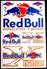 1 Sheet scooter motocross Stickers atv mx Decal Energy Rockstar BMX Bike Bull BG