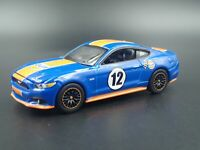 2017 17 FORD MUSTANG GT GULF RACING RARE 1:64 SCALE DIORAMA DIECAST MODEL CAR