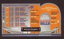 Buffalo Bills--2014 Magnet Schedule