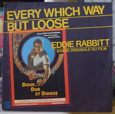 DOUX, DUR ET DINGUE EDDIE RABBITT/CLINT EASTWOOD OST FRENCH SP ELEKTRA 1978