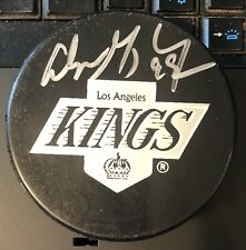 WAYNE GRETZKY Signed Autographed Official Hockey Game Puck ~ Los Angeles Kings