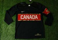 CANADA NATIONAL TEAM OLYMPIC GAMES 2013 ICE HOCKEY SHIRT JERSEY NIKE ORIGINAL