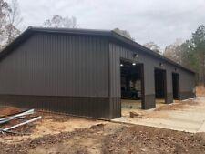 40x100x16 Steel Building Simpson Garage Storage Kit Shop Metal Building