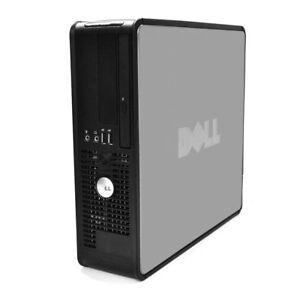 DELL 755 SFF C2D 3.0GHz CPU/2GB RAM/160GB HDD/DVD/WINDOWS XP PRO