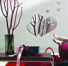 Home DIY Acrylic 3D Mirror Love Heart Wall Sticker Decal Art Mural Removable New