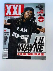 XXL Magazine Lil Wayne April 2007 UGK Nas + Exclusive Notorious B.I.G Poster
