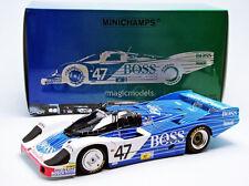 Minichamps Porsche 956 LH Boss Le Mans 1984 Obermaier Racing GmbH #47 1/18 New!