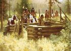 Abandoned #36/200 Limited Edition Canvas By Howard Terpning MINT PRINT W/COA