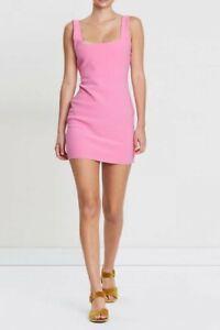 Bec and Bridge pink mini dress