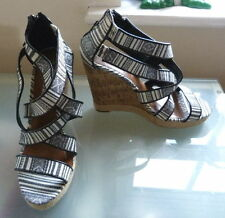 New Look Strappy, Ankle Straps Wedge Casual Shoes for Women