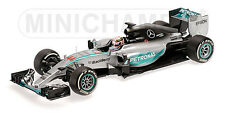 Minichamps 1:18 Lewis Hamilton 2015 Mercedes F1 W06 Australia - NEW In Box