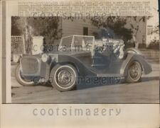 1967 Wire Photo A Car Made Of Wood With A VW Chassis