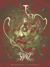 HAXAN Mondo - Becky Cloonan - Green Variant - Sold Out - Edition of 75  - Poster