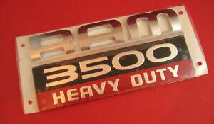 NEW Genuine OEM RAM 3500 Heavy Duty Truck Emblem Badge Logo Door 2007 - 2012