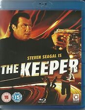 STEVEN SEAGAL IS THE KEEPER - BLU RAY DISC - CRIME FILM