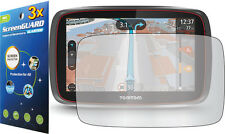 """3x Clear LCD Screen Protector Guard Cover Film for Tomtom GO 500 5000 5.0"""" GPS"""