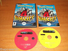 SIMCITY 4 DELUXE EDITION INCLUDES RUSH HOUR EXPANSION PACK .PC-CD. SIM CITY 4