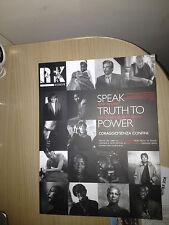 RX EUROPE Speak truth to power CORAGGIO SENZA CONFINI - VOCI OLTRE IL BUIO