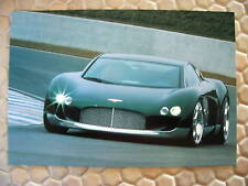 BENTLEY HUNAUDIERES OFFICIAL PROMOTIONAL CONCEPT BROCHURE 2000