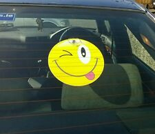 Smileys-- Car sign with suction cup  inside Window Windscreen