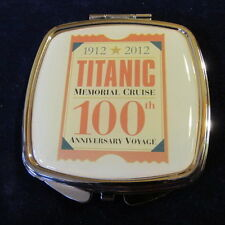 2012 Titanic Memorial Cruise 100th Anniversary Voyage Souvenir Enamel Box MIB A6