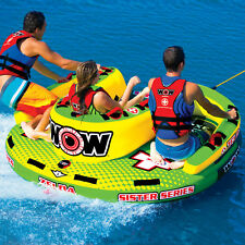 WOW Watersports Sister Series Zelda 3 Rider Inflatable Tube Boat Towable 15-1070